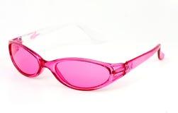 Vidrios rosados Fotografía de archivo libre de regalías