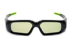 Vidrios sin hilos 3D Foto de archivo