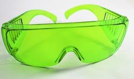 Vidrios verdes Imagen de archivo libre de regalías
