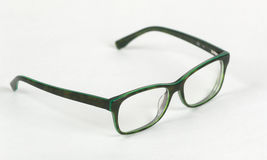 Vidrios verdes Foto de archivo