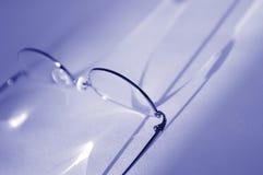 Vidrios y refracción 3 Imágenes de archivo libres de regalías