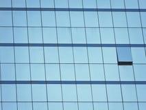 Vidro azul Fotografia de Stock