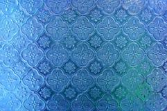 Vidro azul Fotografia de Stock Royalty Free