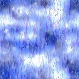 Vidro azul Fotos de Stock Royalty Free