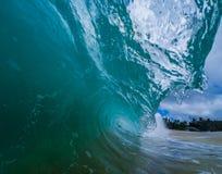 Vidro azul Foto de Stock