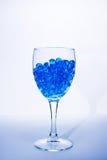 vidro azul Imagens de Stock Royalty Free