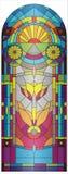Vidro colorido Imagens de Stock Royalty Free