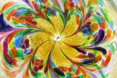 Vidro colorido Foto de Stock Royalty Free