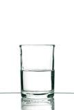 Vidro com água Imagem de Stock
