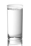 Vidro com água imagem de stock royalty free