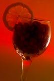 vidro com airelas e limão Imagem de Stock Royalty Free
