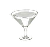Vidro com bebida de martini Fotos de Stock
