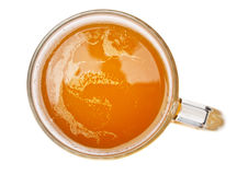 Vidro com cerveja Fotografia de Stock