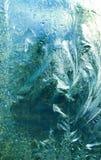 Vidro congelado Imagem de Stock