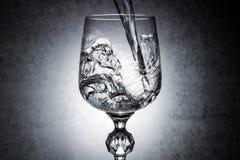 Vidro da água Imagem de Stock
