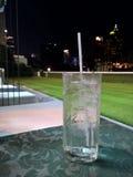Vidro da água de gelo fotos de stock