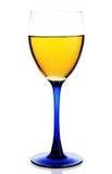 Vidro da bebida amarela isolado Fotografia de Stock Royalty Free