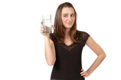 Vidro da água Fotografia de Stock