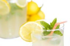 Vidro da limonada Foto de Stock Royalty Free