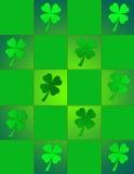 Vidro da mancha do St. Patricks Imagens de Stock Royalty Free