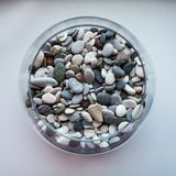 Vidro da pedra Imagens de Stock Royalty Free