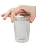 Vidro de água da bebida imagem de stock