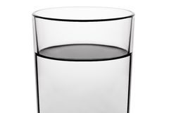 Vidro de água da bebida fotos de stock royalty free
