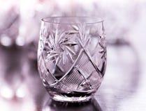 Vidro de água de cristal Imagem de Stock Royalty Free