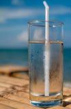 Vidro de água fresca Imagem de Stock