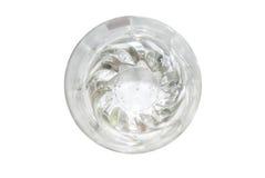 Vidro de água, isolado Imagens de Stock Royalty Free