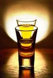 Vidro de а da luz Fotografia de Stock