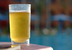Vidro de cerveja Foto de Stock