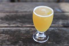 Vidro de cerveja do ofício fotografia de stock royalty free