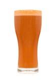 Vidro de cerveja isolado Fotos de Stock