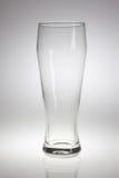 Vidro de cerveja vazio Foto de Stock Royalty Free