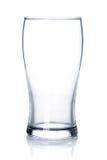 Vidro de cerveja vazio Imagem de Stock Royalty Free