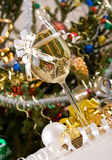 Vidro de Champagne imagens de stock royalty free