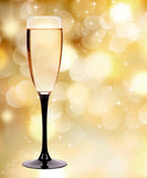 Vidro de Champagne Imagem de Stock Royalty Free