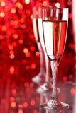 Vidro de Champagne fotografia de stock