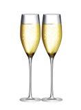 Vidro de Champagne Vetora Illustration Foto de Stock