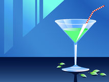 Vidro de cocktail Foto de Stock Royalty Free