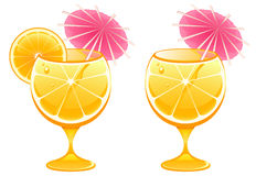 Vidro de cocktail Imagem de Stock Royalty Free