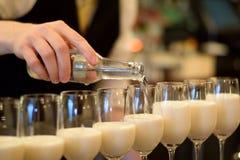 Vidro de cocktail Fotografia de Stock Royalty Free