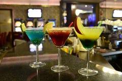 Vidro de cocktail Fotografia de Stock