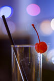 Vidro de cocktail vazio Fotos de Stock Royalty Free