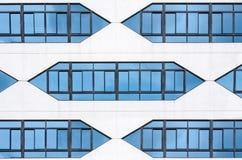 Vidro de construção moderno fotografia de stock royalty free