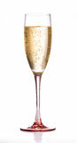 Vidro de flauta de Champagne Fotos de Stock Royalty Free
