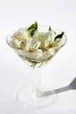 Vidro de flores da mola Fotografia de Stock