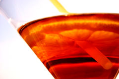 Vidro de Martini fotografia de stock