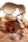 Vidro de Sun Foto de Stock Royalty Free